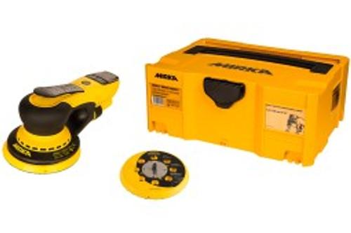 "MIRKA DEROS 650XCV - 6"" (150mm) 5.0mm Orbit, Vacuum-Ready Finishing Sander with Case MID65020CAUS"