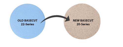 "Mirka 20-341-040 BaseCut 6"" PSA Disc with Liner 40 Grit Qty. 50"