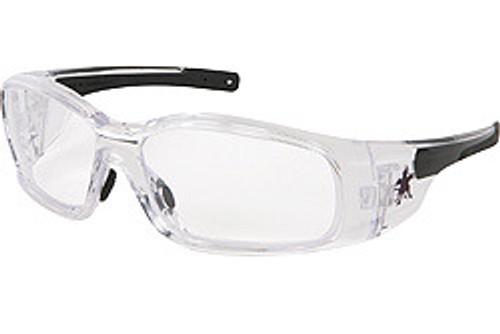 Crews SR140AF Swagger Safety Glasses Clear w/ Clear Anti-Fog Lens (12 Pair)