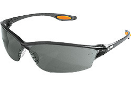 Crews LW212 Law 2 Safety Glasses Orange Temple Inserts w/ Gray Lens (12 Pair)