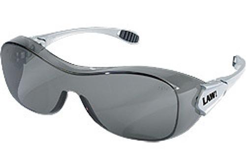 Crews OG112AF Law Over The Glass w/ Gray Anti-Fog Lens (12 Pair)