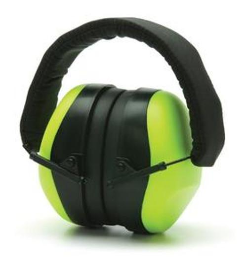 Pyramex PM8031 Hi-Vis Lime Ear Muffs NRR 26DB (1 Each)
