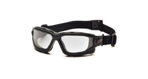 Pyramex SB7010SDT I-Force Safety Glasses, Frame: Black, Lens: Clear Anti-Fog (3 Pair)