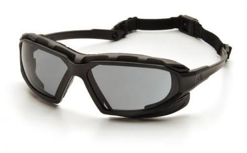 Pyramex SBG5020DT Highlander Plus Safety Glasses, Frame: Black-Gray, Lens: Gray Anti-Fog (12 Pair)