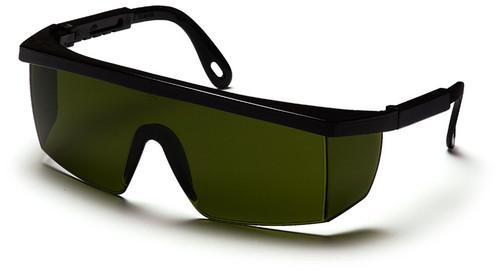 Pyramex SB460SF Integra Safety Glasses, Frame: Black, Lens: 3.0 IR Filter Lens (12 Pair)