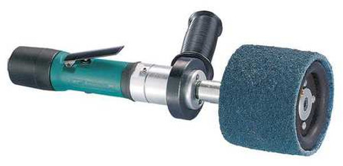 """Dynabrade 13102 - Lightweight Dynastraight Finishing Tool .4 hp Straight-Line 5 000 RPM Rear Exhaust 5/8"""" or 1"""" Dia. Arbor"""