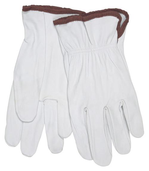 Memphis 3601M Premium Grain Goatskin Leather Work Gloves Size M (1 Pair)