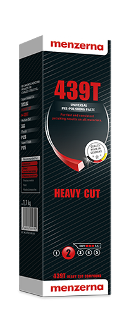 Menzerna 439T Green Bar Pre-Polishing Compound Superior Cut Factor 7 Gloss (1 Each)