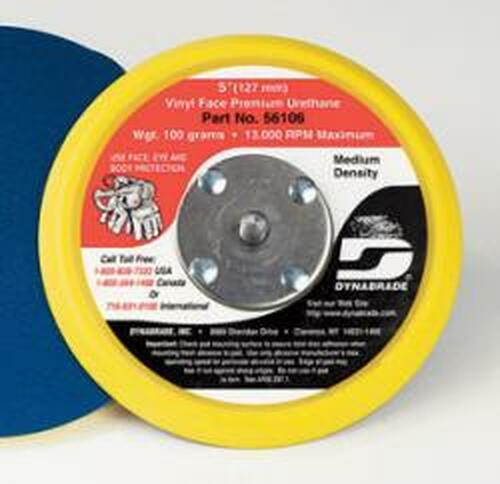 Dynabrade 56098 3-1/2-Inch Vinyl-Face Non-Vacuum Disc Pad