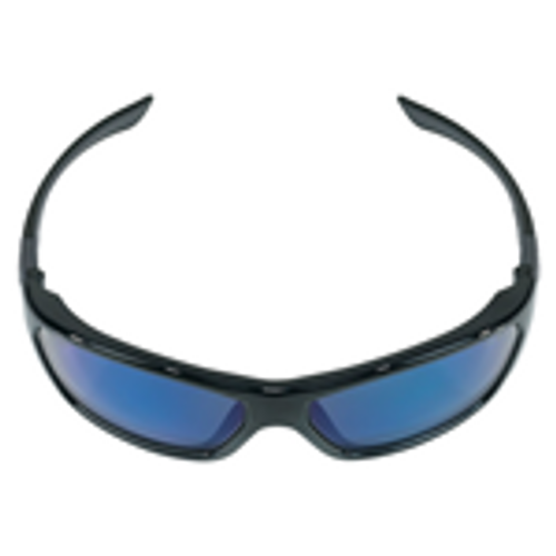 Crews FF128B Forceflex Safety Glasses Opaque with Blue Mirror Lens (12 Pair)