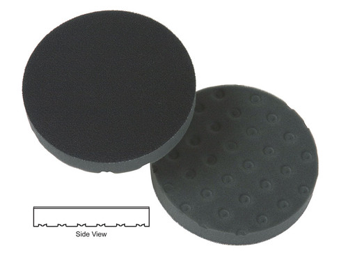 "Lake Country 78-72550 5-1/2"" x 7/8"" CCS - Black Foam Finishing Pad (3 Pack)"