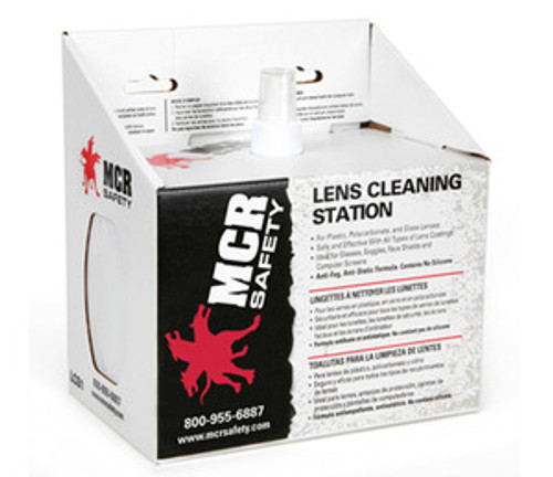 MCR Safety LCS2 Lens Cleaning Station (1 Each)