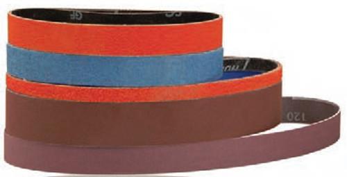 """Dynabrade 82577 - 1/2"""" (13 mm) W x 24"""" (610 mm) L 80 Grit Ceramic DynaCut Belt (Qty 50)"""