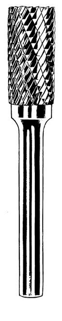 "Dynabrade 93338 - Carbide Burr 3/32"" (2 mm) Dia. SA-42 D/C Burr Cylinder"