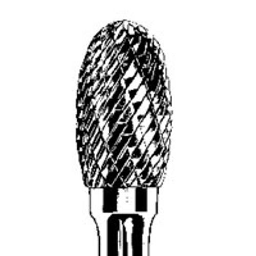 """Dynabrade 93335 - Carbide Burr 3/8"""" (10 mm) Dia. SE-3 D/C Burr Oval"""