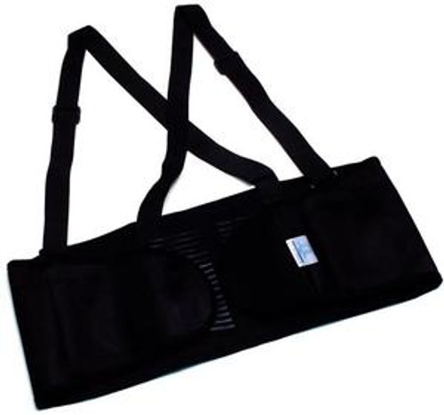 Pyramex EB100 Back Support w/ 5 Stays & Breakaway Suspenders, Size Small (1 Each)