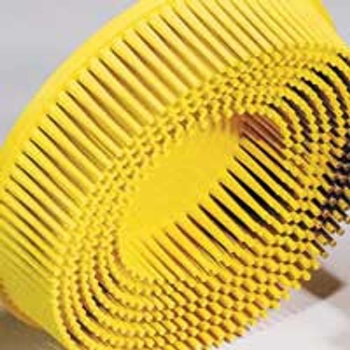 "Dynabrade 90916 - 4-1/2"" (114 mm) Dia. x 5/8-11 80 Grit Yellow 3M Bristle Disc (Qty 10)"