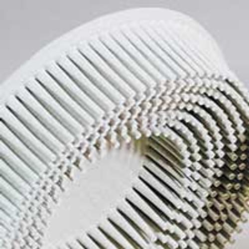 """Dynabrade 90917 - 4-1/2"""" (114 mm) Dia. x 5/8-11 120 Grit White 3M Bristle Disc (Qty 10)"""