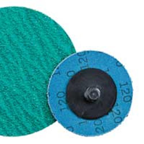 "Dynabrade 92032 - 3"" (76 mm) Dia. x 80 Grit Ceramic Non-Vacuum DynaCut Locking-Type Disc (Qty 25)"