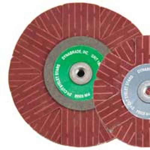 "Dynabrade 93555 - 2"" (51 mm) Dia. 220 Grit A/O Eyelet Sanding Star, (Qty 10)"