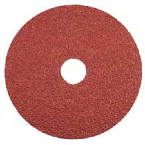 """Dynabrade 79325 - 4-1/2"""" (114 mm) Dia. x 7/8"""" CH 36 Grit Ceramic DynaCut Fiber Disc (Qty 25)"""