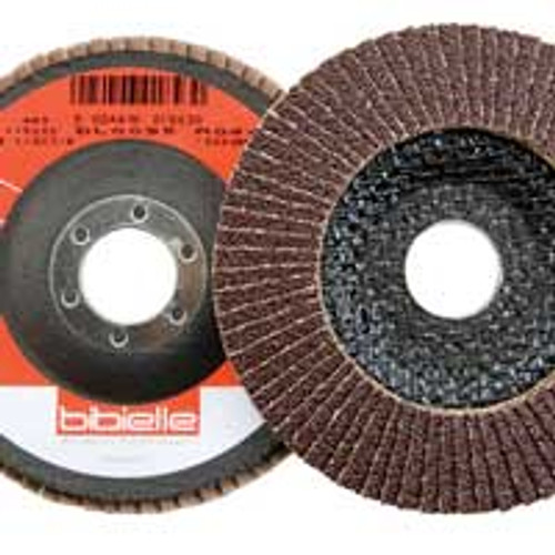 """Dynabrade 78389 - 4-1/2"""" (114mm) Dia. x 7/ 8"""" (22mm) CH Type 29 P120 Grit A/O DynaCut Flap Disc with Fiberglass Backing (Qty 10)"""