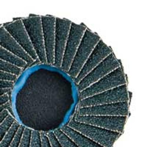 "Dynabrade 90924 - 3"" (76 mm) Dia. x 40 Grit Z/A Non-Vacuum DynaCut Locking-Type Flap Disc (Qty 10)"
