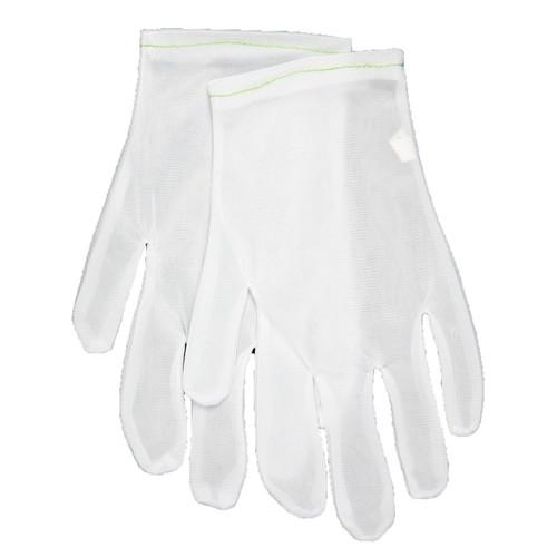 Memphis 8710 Ladies Inspector Cotton/Nylon Light Weight Gloves, Size M (12 Pair)