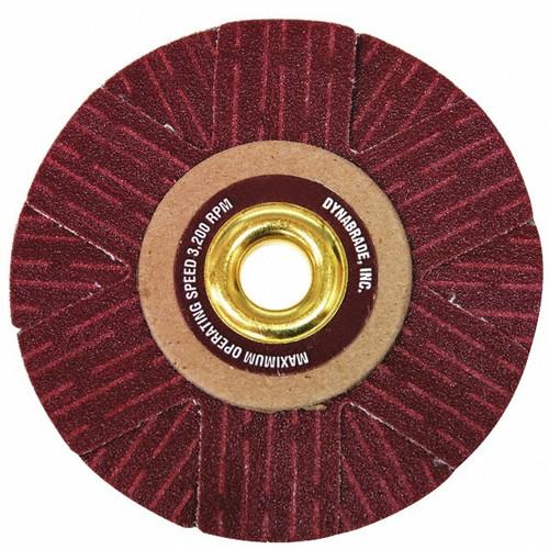 "Dynabrade 93394 - 4"" (102 mm) Dia. 150 Grit A/O Arbor-Mount Sanding Star"