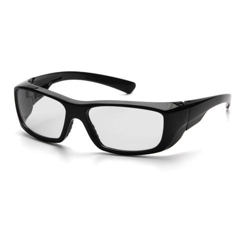 Pyramex SB7910D20 Emerge Safety Glasses, Frame: Black, Lens: Clear +2.0 (12 Pair)