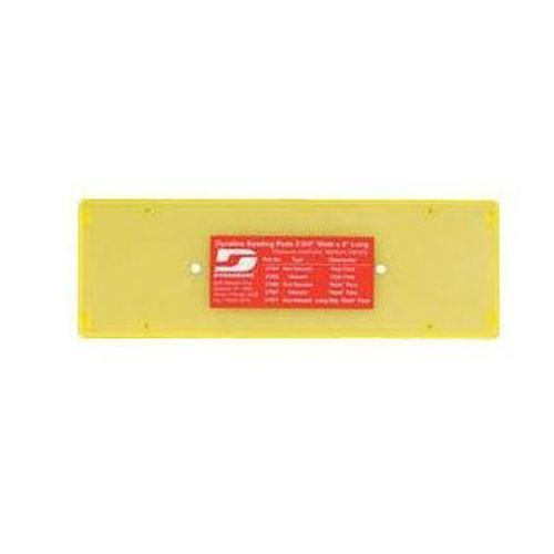 "Dynabrade 56244 - 4-1/4"" (108 mm) W x 4-1/2"" (114 mm) L Non-Vacuum Dynabug ""Model T"" Disc Pad"