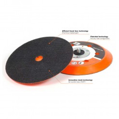 """Dynabrade 56246 - 5"""" (127 mm) Dia. Non-Vacuum Dynabug """"Model T"""" Disc Pad  Vinyl-Face 5/8"""" (16 mm) Thickness  Soft Density  For PSA Discs"""