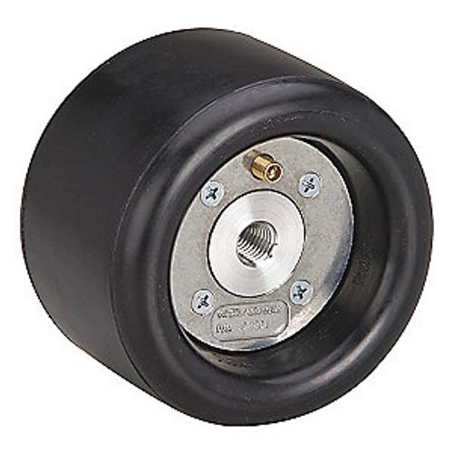 """Dynabrade 92801 - 5"""" (127 mm) Dia. x 3-1/2"""" (89 mm) W Standard Dynacushion Pneumatic Wheel Aluminum Hub"""