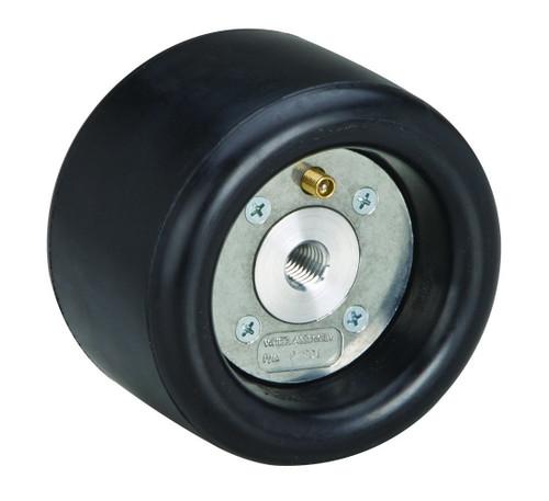 """Dynabrade 92828 - 3-1/4"""" (83 mm) Dia. x 3"""" (76 mm) W Heavy Duty Dynacushion Pneumatic Wheel Aluminum Hub"""