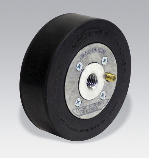 """Dynabrade 92867 5"""" x 1-1/2"""" W Heavy Duty DynaWheel Pneumatic Wheel Aluminum Hub"""