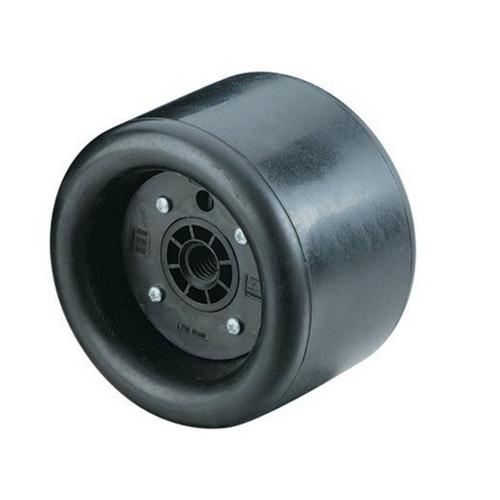 """Dynabrade 94492 - 5"""" (127 mm) Dia. x 2-3/4"""" (70 mm) W Standard Dynacushion Pneumatic Wheel Composite Hub"""