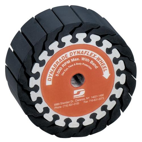 """Dynabrade 94565 - 5"""" (127mm) Dia. x 2"""" (51mm) W Dynaflex Expander Wheel 5/8""""-11Thread For 5"""" (127mm) Dia. x 2"""" (51mm) W Band"""