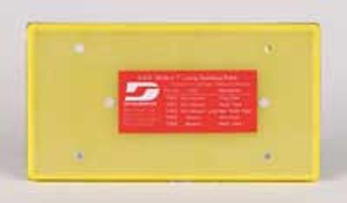 "Dynabrade 57851 - 3-2/3"" (93 mm) W x 7"" (178 mm) L Non-Vacuum Dynabug Disc Pad"