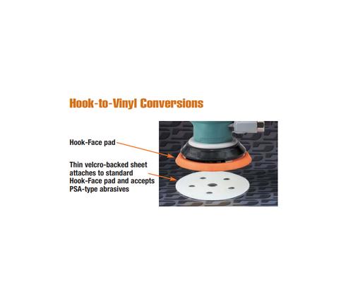 "Dynabrade 53993 - 6"" (152 mm) Dia. Conversion Pad Hook-to-Vinyl"