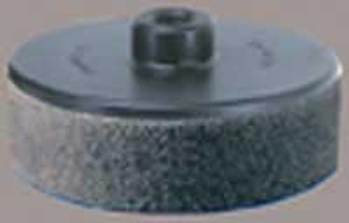 "Dynabrade 50122 3"" Disc Pad Hook 'N Loop Foam Backing 3/8""-24 Female Thread"