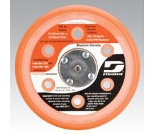 "Dynabrade 56262 - 6"" (152 mm) Dia. Vacuum Disc Pad  Vinyl-Face 3/8"" (10 mm) Thickness Urethane  Medium Density  5/16""-24 Male Thread"