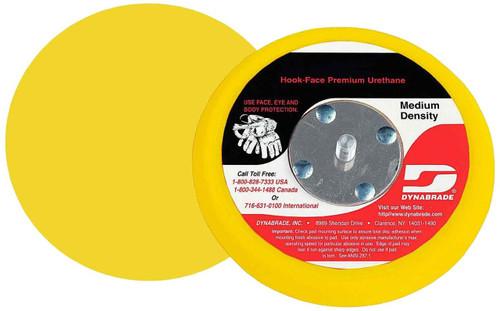 "Dynabrade 56182 - 6"" Dia. Non-Vacuum Disc Pad Hook-Face Short Nap"
