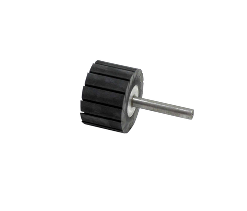 """Dynabrade 92914 - 1-1/2"""" (38mm) Dia. x 1-1/2"""" (38mm) W Slotted Wheel 1/4"""" (6mm) Shank For 1-1/2"""" (38mm) Dia. x 1-1/2"""""""