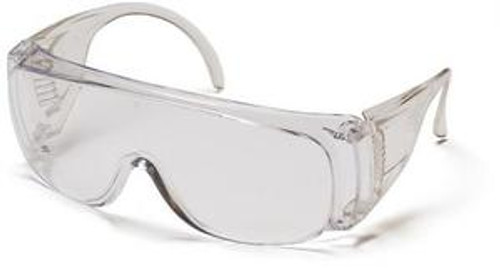 Pyramex S510SJ Solo Jumbo Size Clear Safety Glasses (12 Pair)