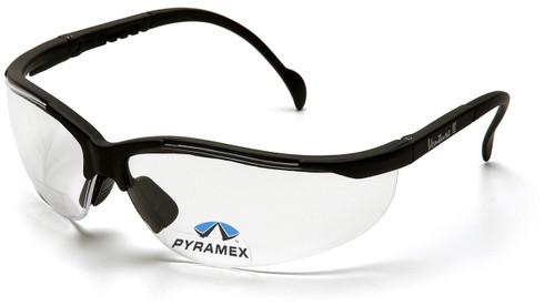 Pyramex SB1810R15 V2 Readers Safety Glasses, Frame: Black, Lens: Clear + 1.5 (6 Pair)