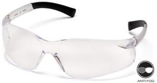 Pyramex S2510ST Ztek Anti-Fog Clear Safety Glasses (12 Pair)