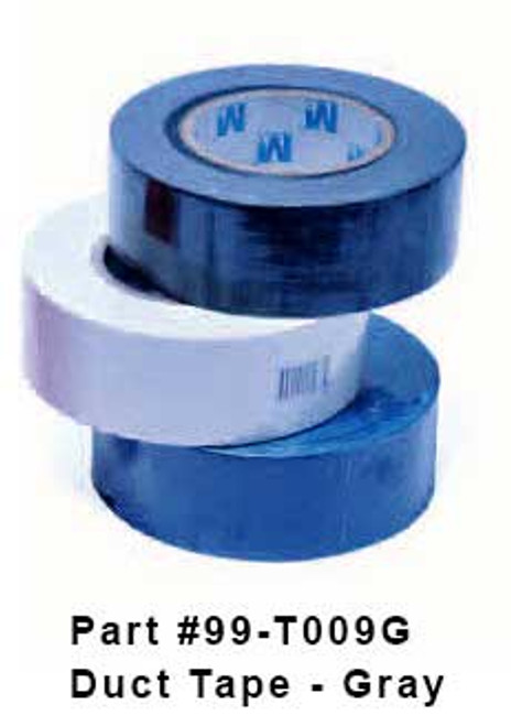 """2"""" x 60 Yards Silver Utility Grade Duct Tape, 24 Rolls"""