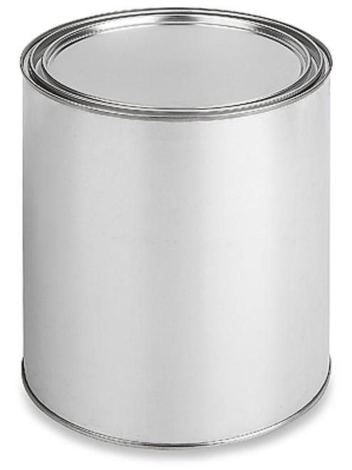 TCI MTG P/P, Metal Gallon Paint Cans with Lids (34 Cans Per Case)
