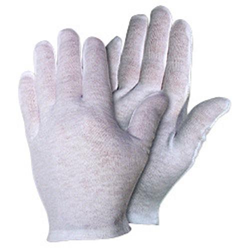 Memphis 8621C Inspectors Gloves 100% Cotton Lisle Medium Weight Ladies, Small (12 Pair)
