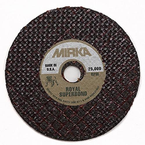 "Mirka MS-0110 - 3"" x 1/32"" Royal Cut-off Wheel"